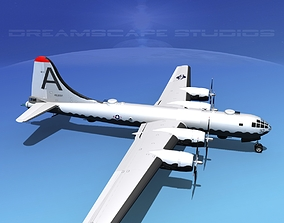 3D model Boeing B-29 Superfortress V06