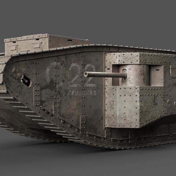 British Mark1 Tank WWI