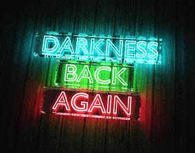3D model Darkness Back Again