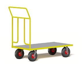 Trolley 3D Model market