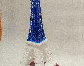 london eiffel tower 3d model