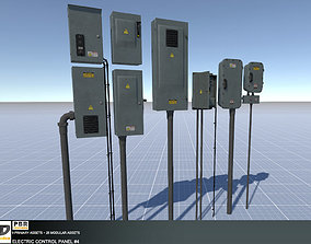 Electrical Control Panel 4 3D model