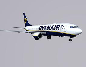Boieng 737-800 Ryanair 3D model
