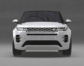 3D model Range Rover Evoque 2020 no Interior