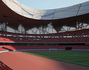 Beijing National Stadium 3D chinese
