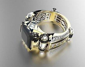 ring black prince 3D print model