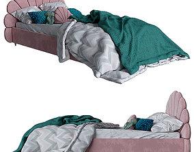 Children bed shell 3D model