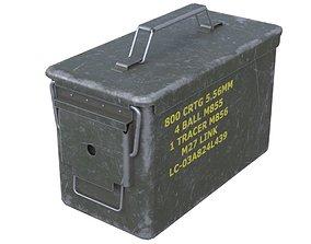 3D model Ammunition Box 1