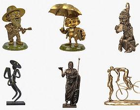 veronese Decorative Sculptures Collection 3D Models