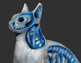 White Walker Cat 3D printable model