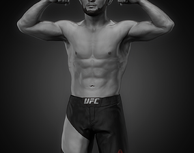 printable Khabib Nurmagomedov 3D printable model