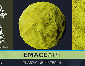 PBR Plasticine Material 6 Substance Unity 3D model