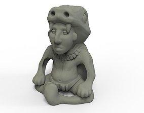 3D printable model Mayan Sculpture 2