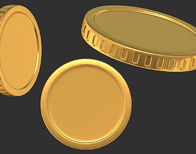 Cash money coin 3D