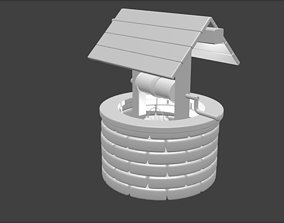 Ancient Well 3D printable model