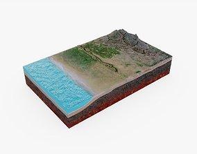 3D model Tectonic Plates
