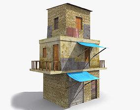 Slum s 3D asset