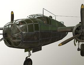 USA Army B-25 Michele Bomber 3D model