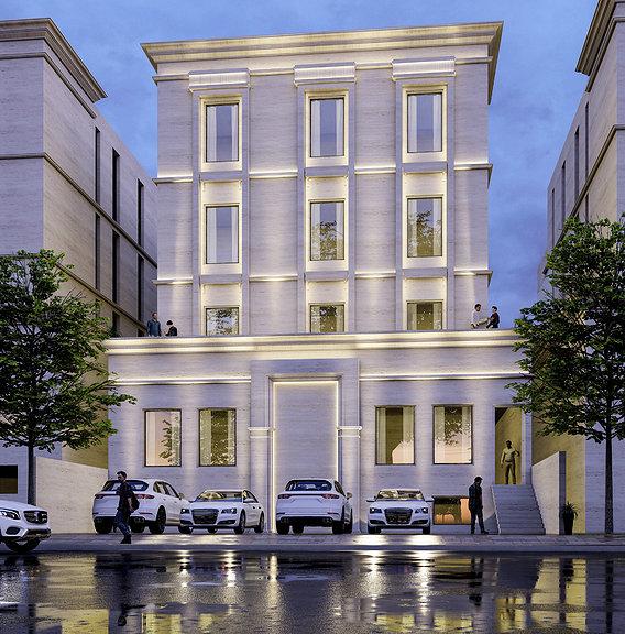 Neo classical building design