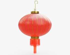3D asset Chinese Red Lantern
