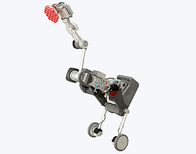 3D asset Handle Robot Boston Dynamics