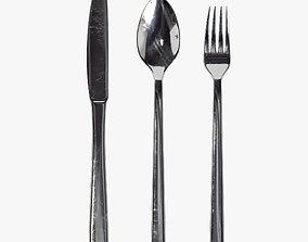 3D model Cutlery set 01