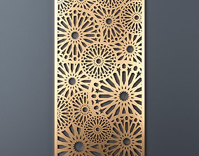 3D model Decorative panel 195