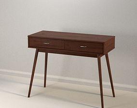 Modern Desk 01 3D model