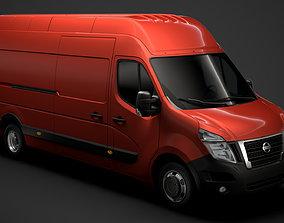 Nissan NV 400 L4H3 Van 2020 3D model
