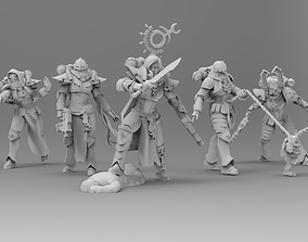 Coven of the Primordial - 13 Slaves 3D printable model 1