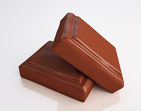 3D Chocolate pieces