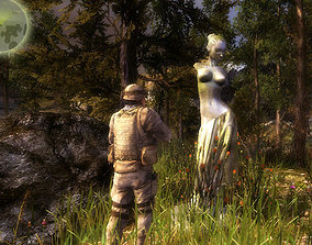 VR / AR ready 3Dfoin - Statues pack