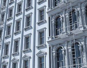 3D Commercial Building Facade 17