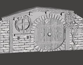 Hobbit House elements wargaming 3D printable model