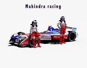 3D asset Mahindra racing 2017 2018