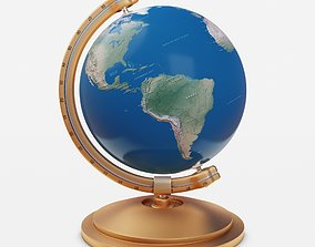 Simple Globe world-map 3D model