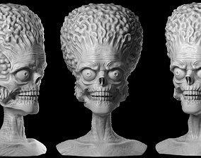 character Martian 3D print model