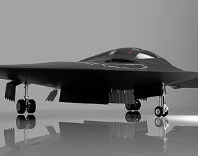 B-21 Raider LRS-B Next Generation Stealth Bomber 3D model