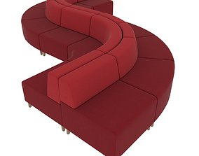 3D model Share modular seating system