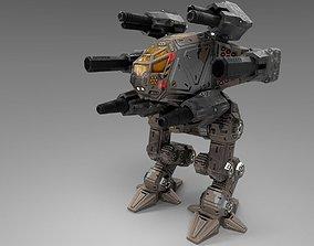 Anubis BattleMech 3D asset