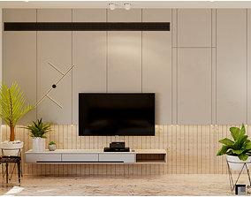 Bedroom 3D model Interior Scene for Corona Renderer 3D