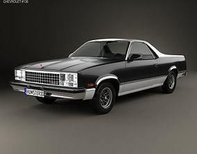 Chevrolet El Camino 1982 3D