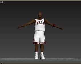 3D asset Michael Jordan Model
