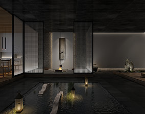 oriental Tea room 3D model