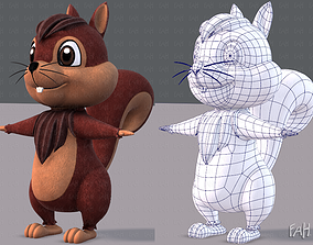 3D model Squirrel V02