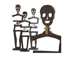 3D Floor hanger Skeleton