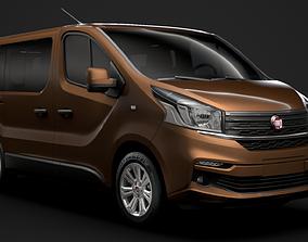 Fiat Talento Minibus 2019 3D model
