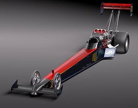 Top Fuel Dragster sport 3D