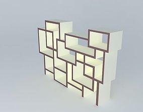 3D model Shelfs