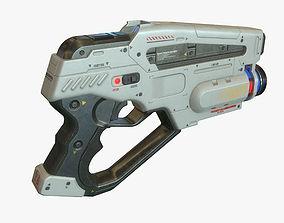 Sci Fi Gun 02 3D asset